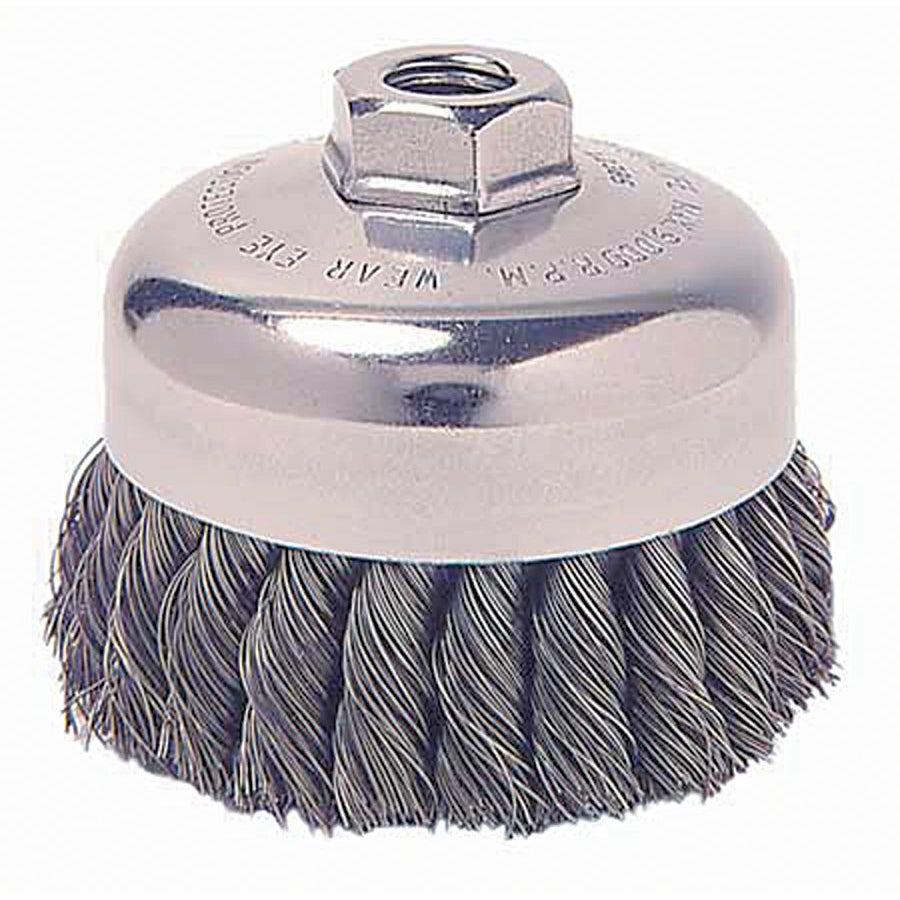 General-Duty Knot Wire Cup Brush