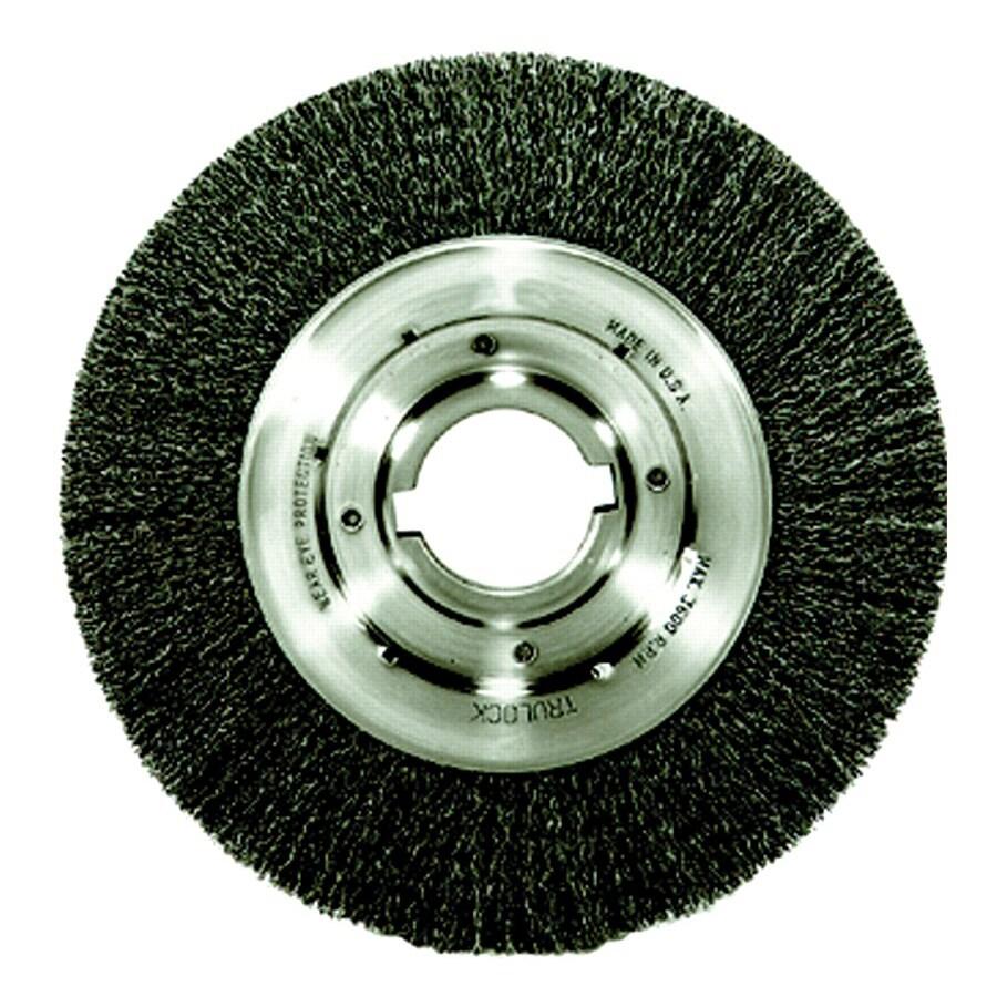Trulock Medium-Face Crimped Steel Wire Wheel