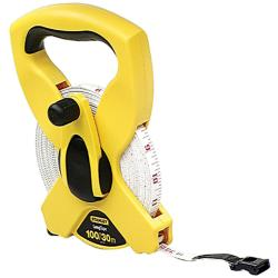 Stanley 100-foot Open Reel Fraction Tape Measurer