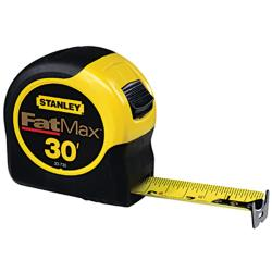 Stanley Fatmax 30-foot Tape Rule