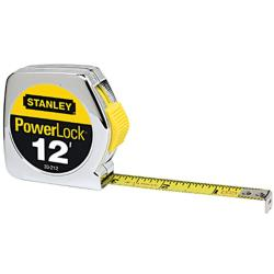 Stanley Yellow 12-foot Tape Measurer