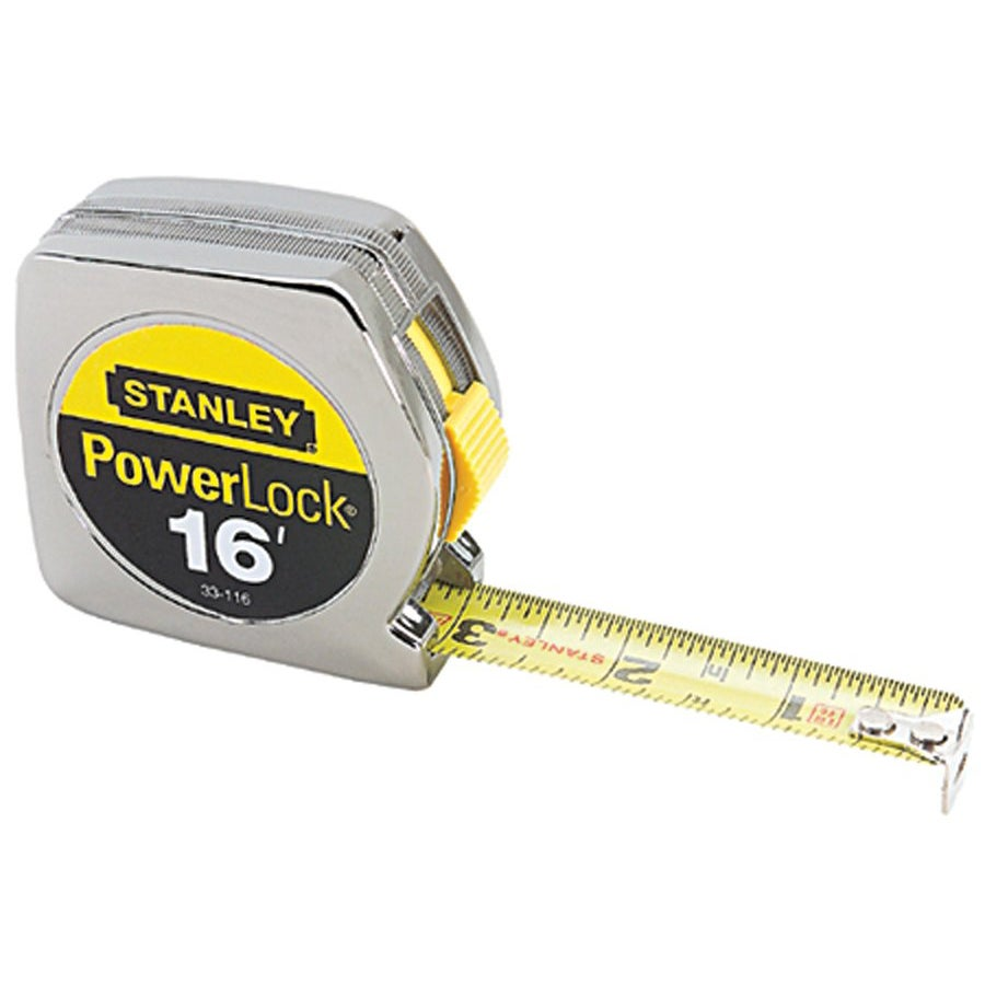 Stanley Taperule Yellow 16-foot Tape Measurer