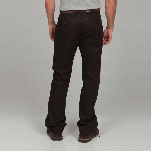 Men's Modern Fit Brown Pants