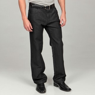 Men's Modern Fit Black Denim Jeans