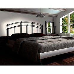 Gun Black Queen/ Full-size Combo Headboard