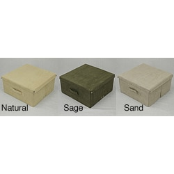 Microsuede Storage Box