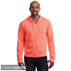 American Apparel Unisex Highlighter California Fleece Zip Hoodie