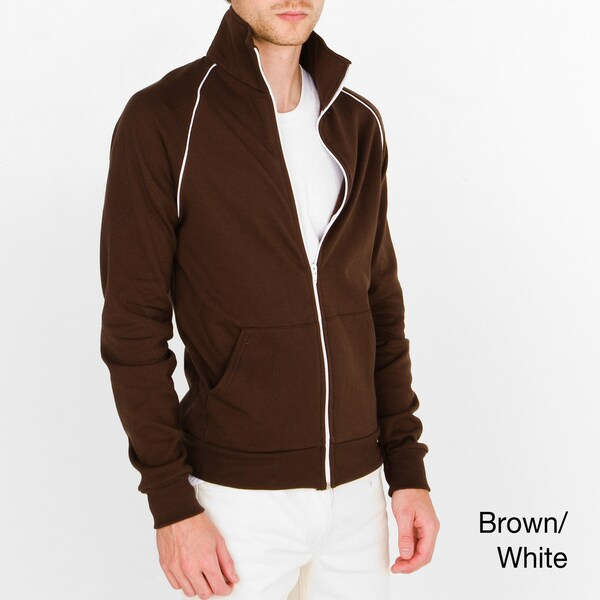 American Apparel Unisex California Fleece Track Jacket