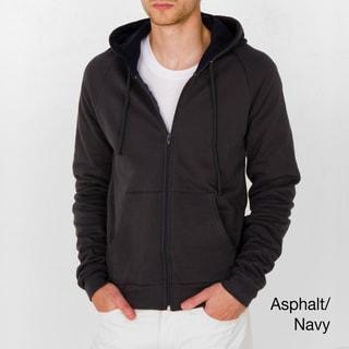 American Apparel Unisex California Fleece Thermal-lined London Hoodie