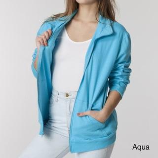 American Apparel Unisex California Fleece Zip Jogger Jacket