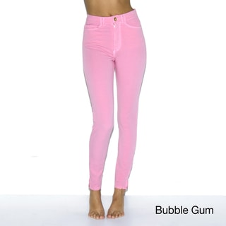 American Apparel Women's Four-Way Stretch High-Waist Side Zipper Pants