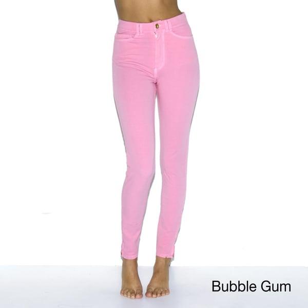 American Apparel Women's Four-Way Stretch High-Waist Side Zipper Pants