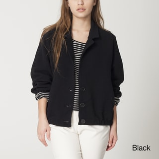 American Apparel Women's Ribbed Jacket