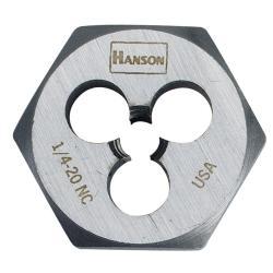 Irwin Hanson High Carbon Steel Fractional Hexagon Dies
