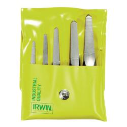 Irwin Hanson Straight Screw Extractor Set