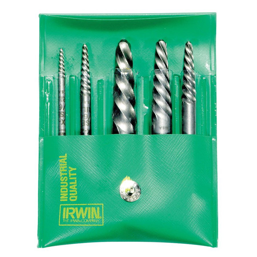 Irwin Hanson 6-piece Screw Extractor Set