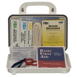 Pac-Kit 10 Person Plastic First-Aid Kit with Eyewash