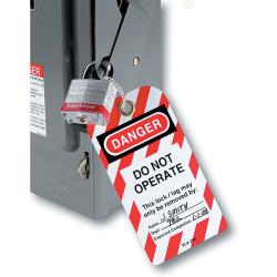 Master Lock 'Do Not Operate' Safety Tags (12 Bags)