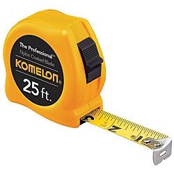 Komelon USA Professional Series 'Steelpower' 1 inch x 25 foot Measuring Tape