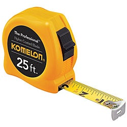 Komelon USA Professional Series 'Steelpower' 3/4 inch x 16 foot Measuring Tape
