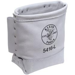 Klein Tools Belt-Side Leather Bolt Bag