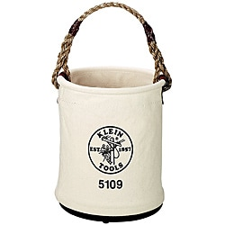 Klein Tools Wide-Opening Canvas Tool Bucket