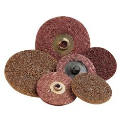 3M 3-Inch Brown Scotch-Brite Roloc Discs