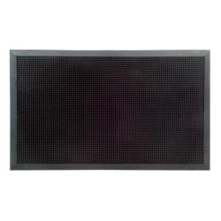 XL Outdoor Black Rubber Stud Door Mat (24 x 40)