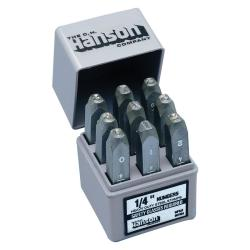 C.H. Hanson Standard Steel Number Stamp Set (3/8 inch)