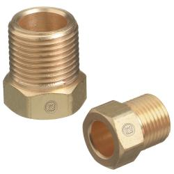 Western Enterprises LH Nut Inert Arc Fitting
