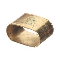 Western Enterprises Brass Oval Dual Hose 9940-P Brace