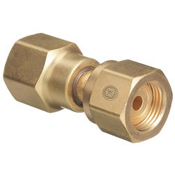 Western Enterprises Brass Cylinder Cga-320-580 Adapter