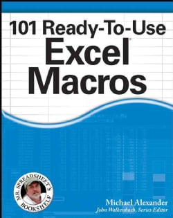 101 Ready-To-Use Excel Macros (Paperback)