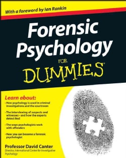 Forensic Psychology for Dummies (Paperback)