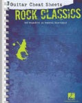 Guitar Cheat Sheets: Rock Classics (Paperback)