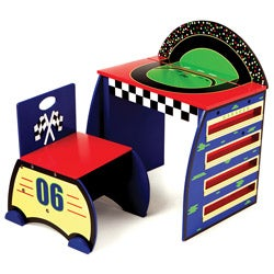 Levels of Discover Race Track Activity Desk Set