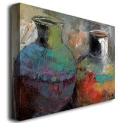 Boyer 'Still Life with Jugs' Gallery-Wrapped Canvas Art