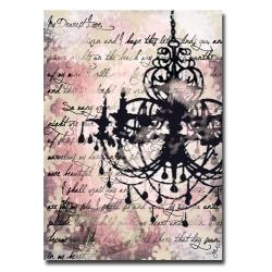 Working Girls Design 'Chandelier' Canvas Art