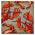 Working Girls Design 'Crab and Lobster' Canvas Art
