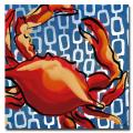 Working Girls Design 'Crab' Canvas Art