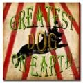 Working Girls Design 'Greatest Dog' Canvas Art