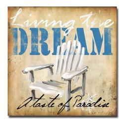 Working Girls Design 'Living the Dream' Canvas Art
