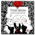 Working Girls Design 'Friends Welcome' Canvas Art