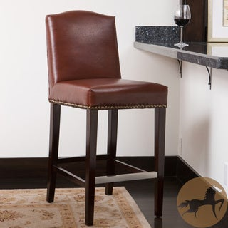 Christopher Knight Home Bolton Brown Bonded Leather Counter Stool