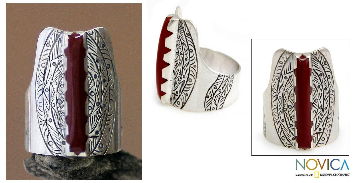 Sterling Silver 'Tuareg Legacy' Ring (Indonesia)