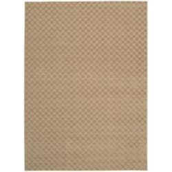Living Necessities Beige Rug (5' x 7')