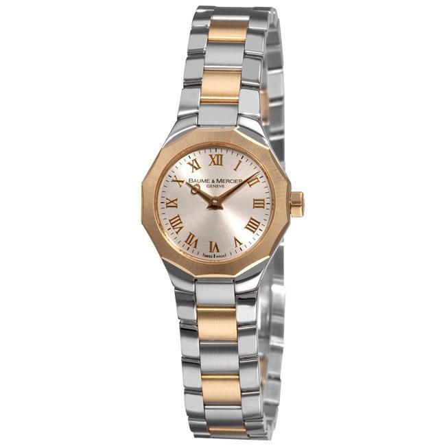 Baume & Mercier Women's 'Riviera' Two-tone Watch