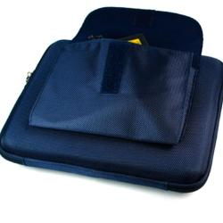 Kroo Hard-shell EVA 12-inch Cube Zip-close Netbook Sleeve Laptop Case