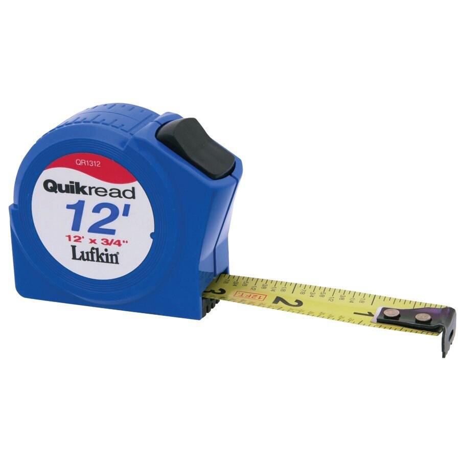 Cooper Hand Tools 12-Foot Quick-Read Tape Measure