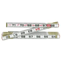 Cooper Hand Tools 6-Foot 2-Way Ruler